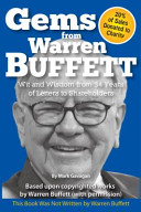 Gems from Warren Buffett