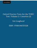 Oxford Practice Tests for the TOEIC Test PDF