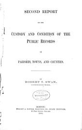 Report of the Commissioner of Public Records: Volumes 2-8