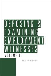 Deposing & Examining Employment Witnesses: Edition 8