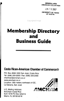 Membership Directory and Business Guide PDF