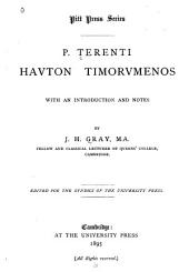Havton timorvmenos: with introduction and notes