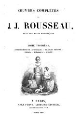 Œuvres complètes de J. J. Rousseau: Volume3