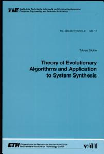 Theory of Evolutionary Algorithms and Application to System Synthesis PDF