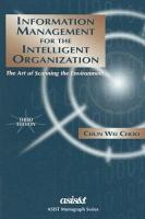 Information Management for the Intelligent Organization PDF