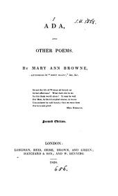 Ada, and other poems