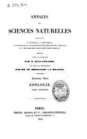 Annales des sciences naturelles: Zoologie, Volume3