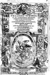 Orlando furioso di Ludovico Ariosto (etc.)
