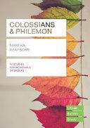 Colossians   Philemon  Lifebuilder Study Guides