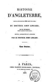 Histoire d'Angleterre: Volume16