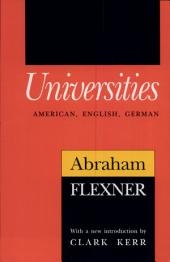 Universities: American, English, German