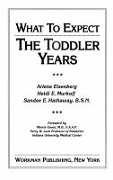 What to Expect the Toddler Years PDF