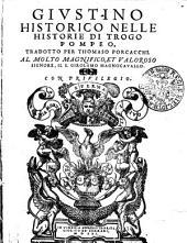 Givstino Historico Nelle Historie Di Trogo Pompeo