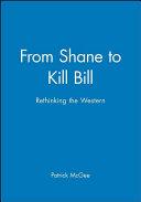 From Shane to Kill Bill