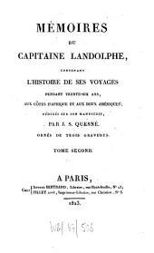 Mémoires: contenant l'histoire de ses voyages pendant trente-six ans, aux côtes d'Afrique et aux deux Amériques : ornés de trois gravures, Volume2