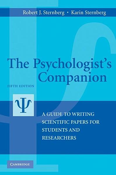 The Psychologist s Companion PDF