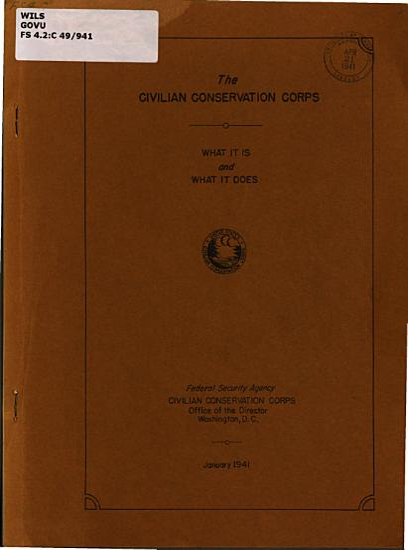 The Civilian Conservation Corps PDF