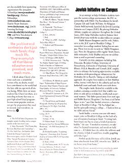 Jewish Action PDF