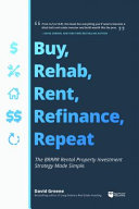 Buy  Rehab  Rent  Refinance  Repeat Book