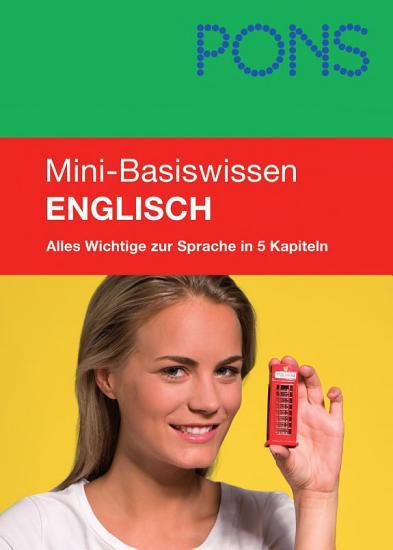 PONS Mini Basiswissen Englisch PDF