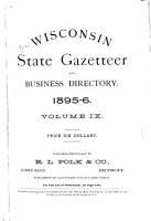 Polk s Wisconsin State Gazetteer and Business Directory     PDF
