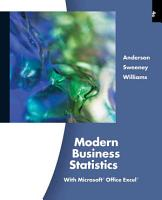 Modern Business Statistics with Microsoft Excel PDF