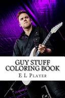 Guy Stuff Coloring Book