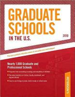 Peterson s Graduate Schools in the U S  2010 PDF