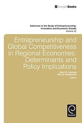 Entrepreneurship and Global Competitiveness in Regional Economies
