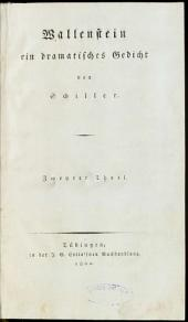 Wallenstein: ein dramatisches Gedicht. Wallensteins Tod. 2