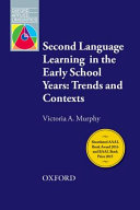 Second Language Learning in the Early School Years PDF