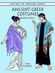 Ancient Greek Costumes Paper Dolls Book PDF