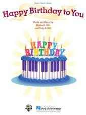 Happy Birthday to You Sheet Music: Piano/Vocal/Guitar