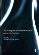Classic Papers in Natural Resource Economics Revisited PDF