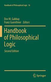 Handbook of Philosophical Logic: Volume 16, Edition 2