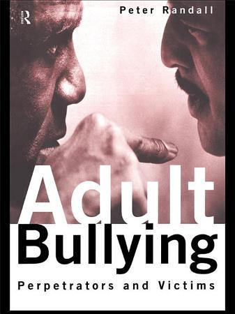 Adult Bullying PDF