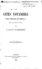 Les cités votanides: valeur symbolique des nombres, etc., dans la Nouvelle Espagne