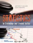 Statistics in Criminology and Criminal Justice PDF
