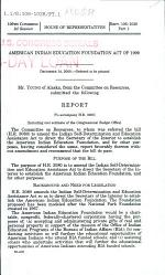 American Indian Education Foundation Act of 2000