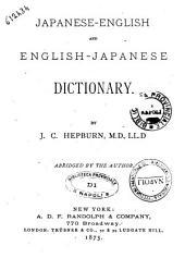 Japanese-English and English-Japanese Dictionary by J. C. Hepburn