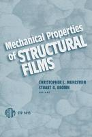 Mechanical Properties of Structural Films PDF