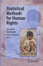 Statistical Methods for Human Rights
