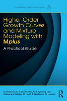 Higher Order Growth Curves and Mixture Modeling with Mplus PDF