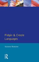 Pidgin and Creole Languages PDF