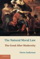 The Natural Moral Law PDF