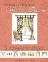 The Design Directory of Window Treatments PDF