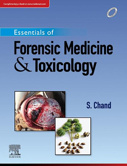 Essentials of Forensic Medicine and Toxicology  1st Edition PDF