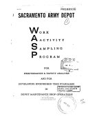 Work Activity Sampling Program (WASP)
