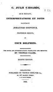 C. Julii Cæsaris: quæ extant