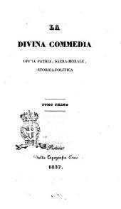 La Divina Commedia opera patria, sacra-morale, storica-politica [Giovan Battista Fanelli]: 1